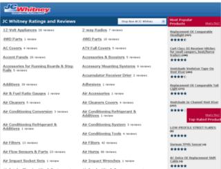 reviews.jcwhitney.com screenshot