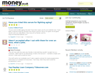 reviews.money.co.uk screenshot