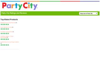 reviews.partycity.com screenshot