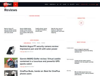 reviews.zdnet.co.uk screenshot