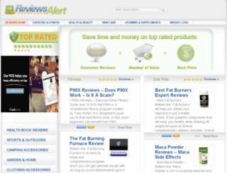 reviewsalert.com screenshot