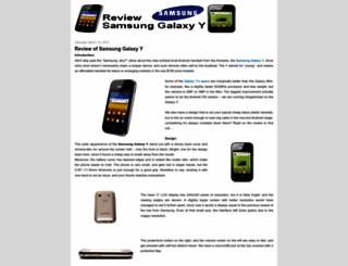 reviewsamsunggalaxyy.blogspot.com screenshot