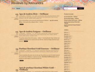 reviewsbyalexandra.wordpress.com screenshot