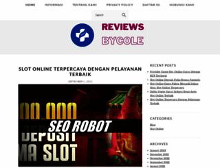 reviewsbycole.com screenshot