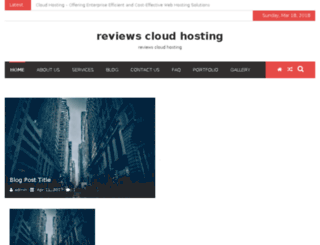 reviewscloudhosting.info screenshot