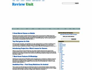 reviewunit.com screenshot