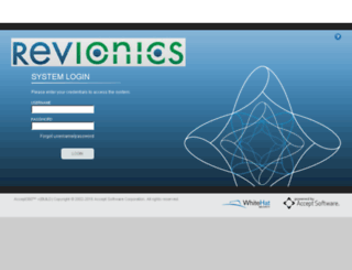 revionics.acceptondemand.com screenshot