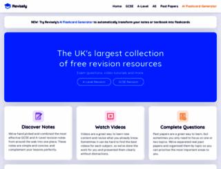 revisely.co.uk screenshot