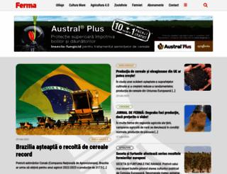 revista-ferma.ro screenshot