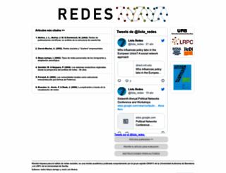 revista-redes.rediris.es screenshot