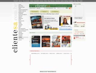 revista.clientesa.com.br screenshot