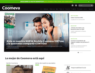 revista.coomeva.com.co screenshot