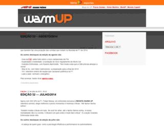 revista.warmup.com.br screenshot