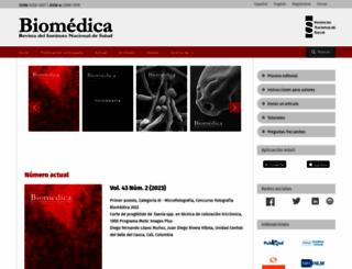 revistabiomedica.org screenshot