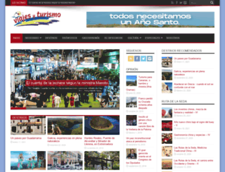 revistadeviajesyturismo.com screenshot