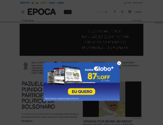 revistaepoca.com.br screenshot
