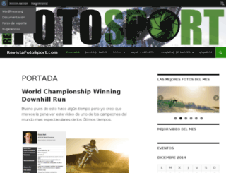 revistafotosport.com screenshot