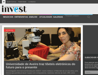 revistainvest.pt screenshot