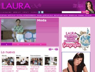 revistalaura.com screenshot