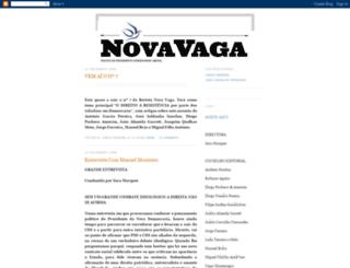 revistanovavaga.blogspot.com screenshot