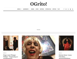 revistaogrito.com screenshot
