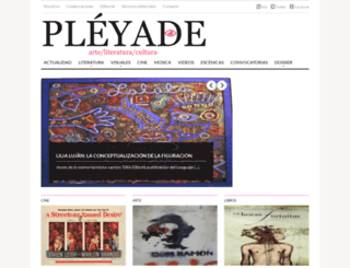 revistapleyade.blogspot.mx screenshot