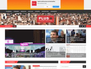 revistaplus.com.py screenshot