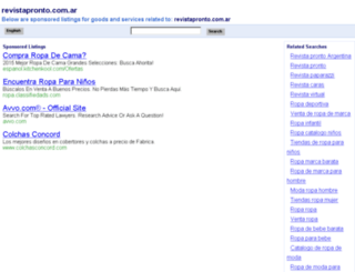 revistapronto.com.ar screenshot