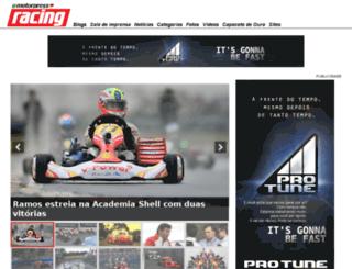 revistaracing.com.br screenshot