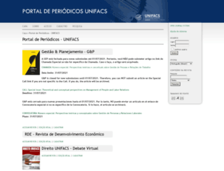revistas.unifacs.br screenshot