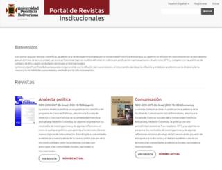 revistas.upb.edu.co screenshot