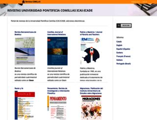 revistas.upcomillas.es screenshot