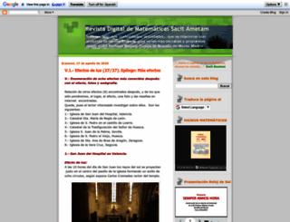 revistasacitametam.blogspot.com.es screenshot
