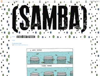 revistasamba.blogspot.com.br screenshot