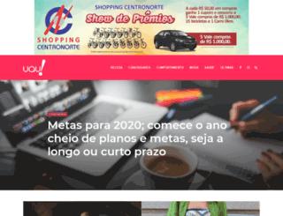 revistauau.com.br screenshot