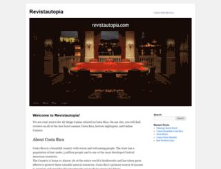 revistautopia.com screenshot