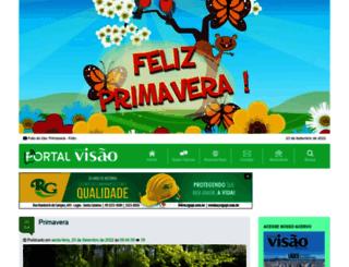 revistavisao.com.br screenshot