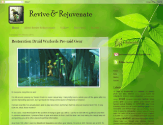 reviveandrejuvenate.blogspot.com screenshot