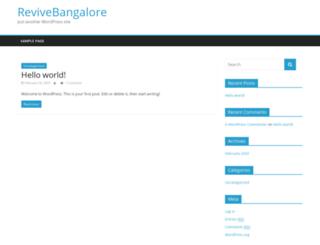 revivebangalore.com screenshot