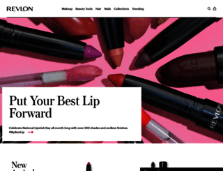 revlon.com screenshot
