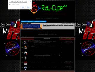 revolutioncyber.forumid.net screenshot