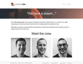revolutionlabs.io screenshot