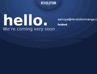 revolutionmanga.com screenshot