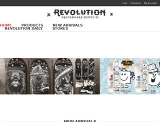 revolutiononline.co.za screenshot