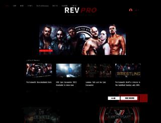 revolutionprowrestling.com screenshot