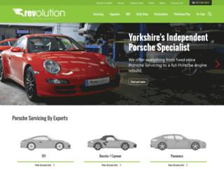 revolutionsupercars.co.uk screenshot