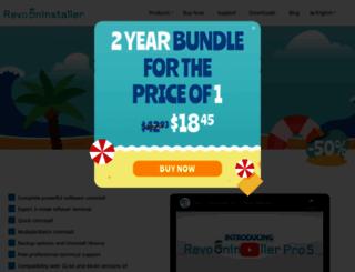 revouninstaller.com screenshot