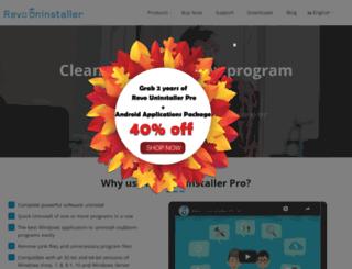 revouninstallerpro.com screenshot