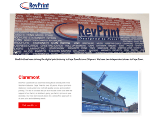 revprint.co.za screenshot