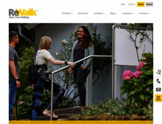 rewalk.com screenshot